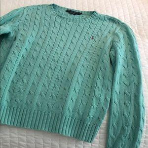 Aqua Knit Sweater